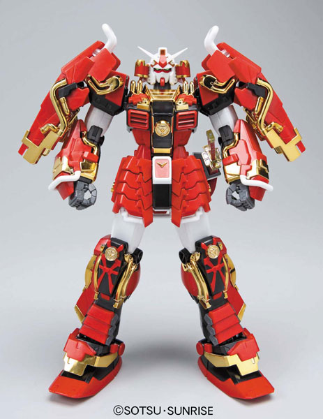 100 MG Bandai Gundam Samurai warrior team in the true Gundam Musou