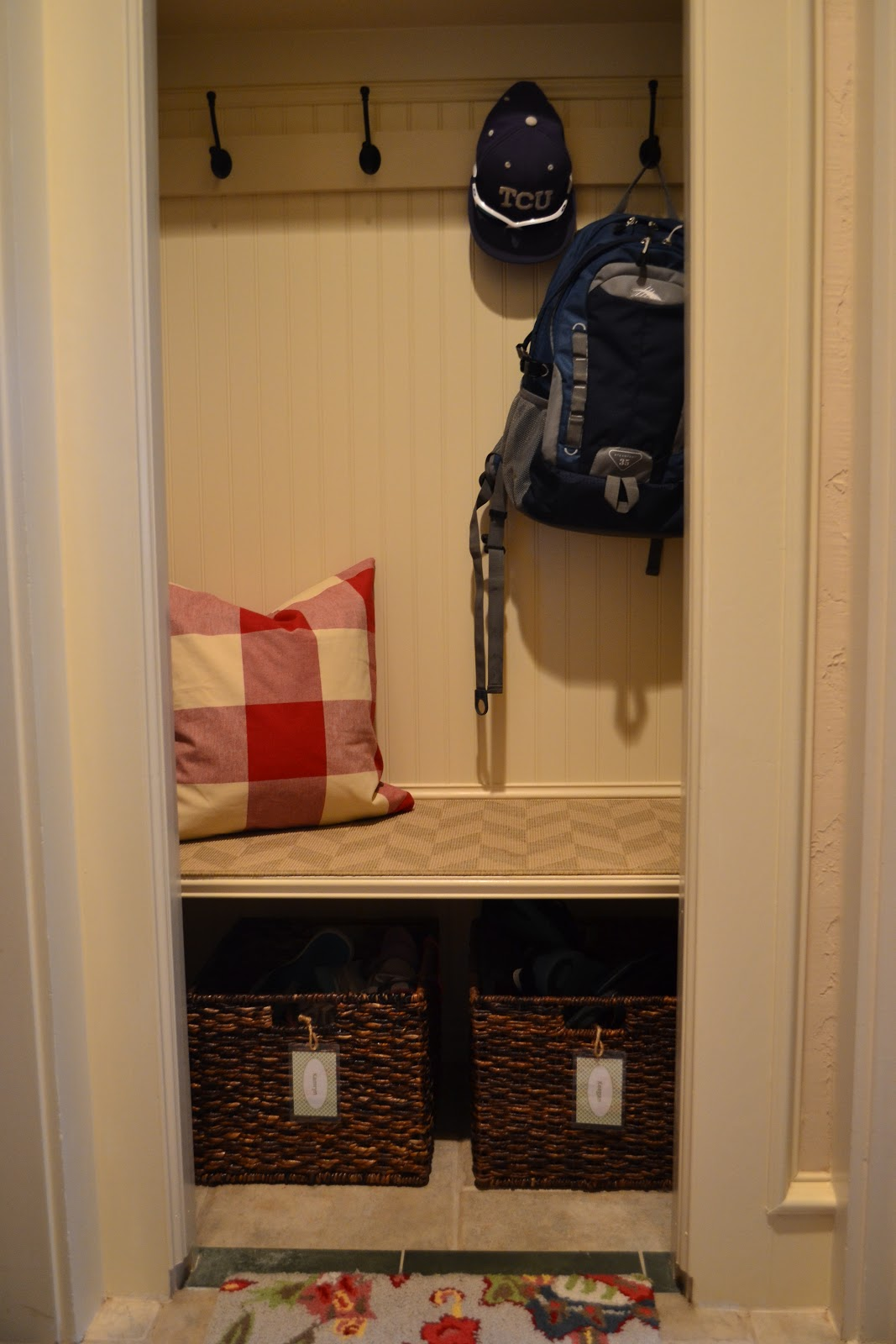 Convert Coat Closet To Mudroom With Convert Coat Closet To Mudroom.