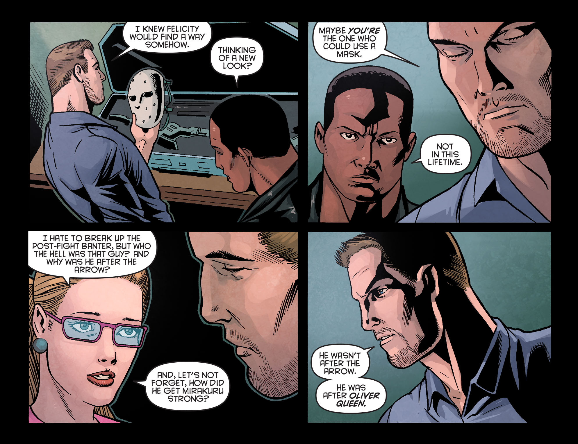 Read online Arrow: Season 2.5 [I] comic -  Issue #18 - 16