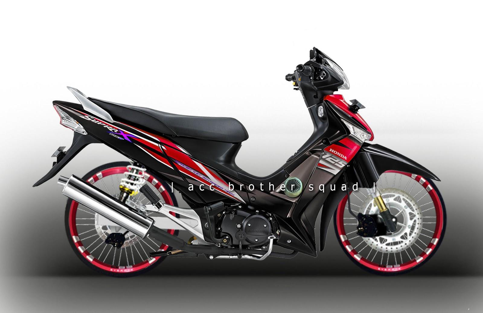 81 Modifikasi Motor Supra Thailand Terbaru Dan Terkeren Kujang Motor