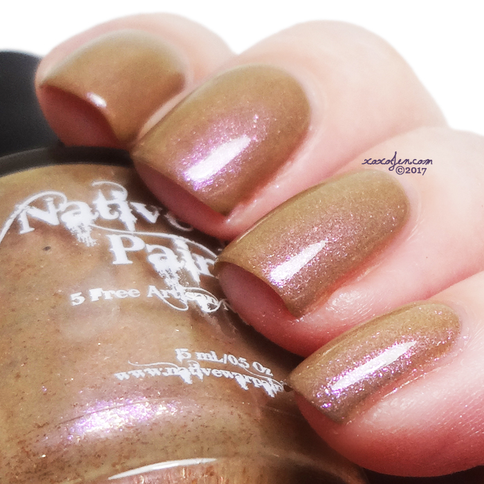 xoxoJen's swatch of NWP - Lay in the Fallen Leaves