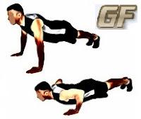 Fitness dan olah raga dirumah push up
