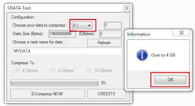 Cara Menambah Kapasitas Memori SDCard dan Flahsdisk 2GB, 4GB, 8GB Menjadi 16GB