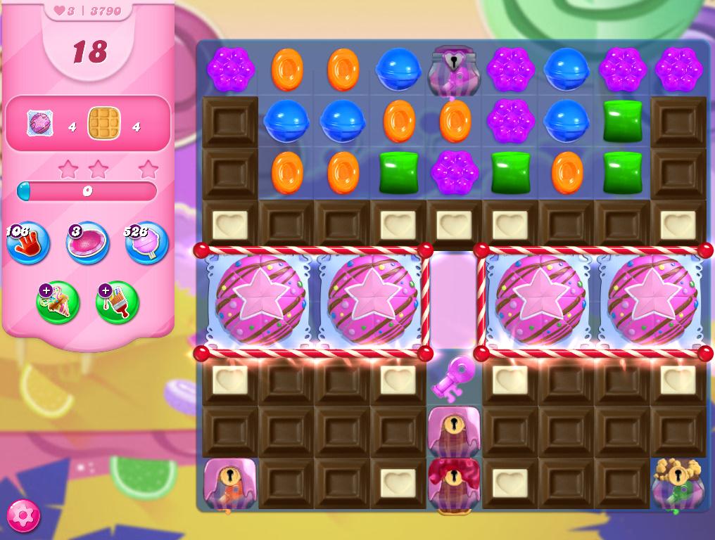 Candy Crush Saga level 3790