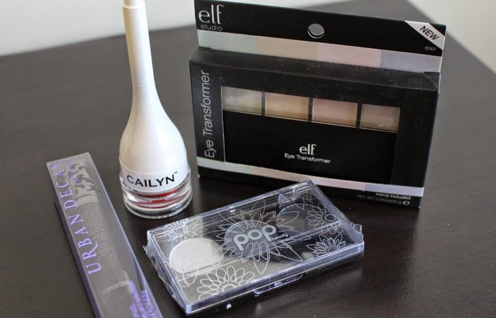 giveaway, urban decay, elf, e.l.f., eyes lips face, cailyn, pop beauty, pop, makeup, lipgloss, lip balm, eyeshadow, eyeshadow palette