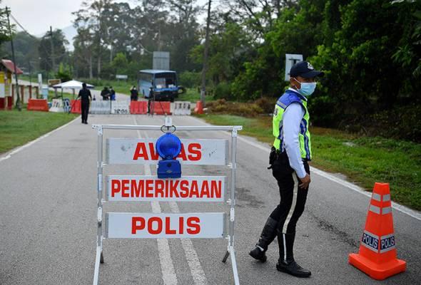 Polis Cedera Ditumbuk Warga Indonesia Ketika Buat Sekatan Jalan Raya PKP