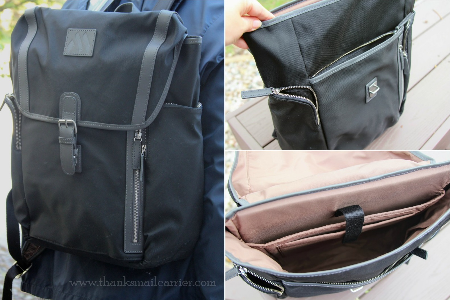 Machir Executive Flap-Over Backpack review