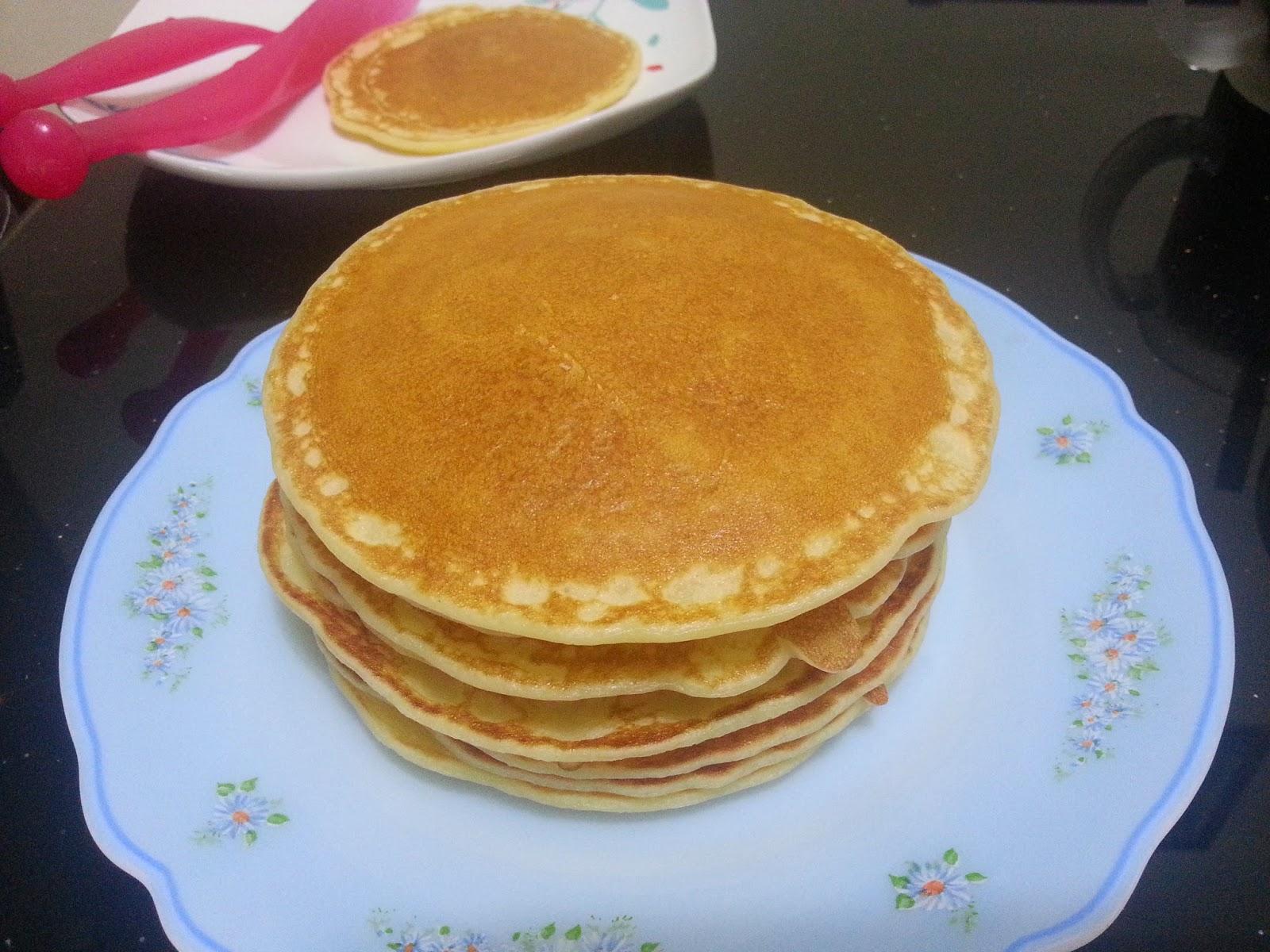 ~ Aku dan kamu ~: Resepi pancake mudah dan sedap