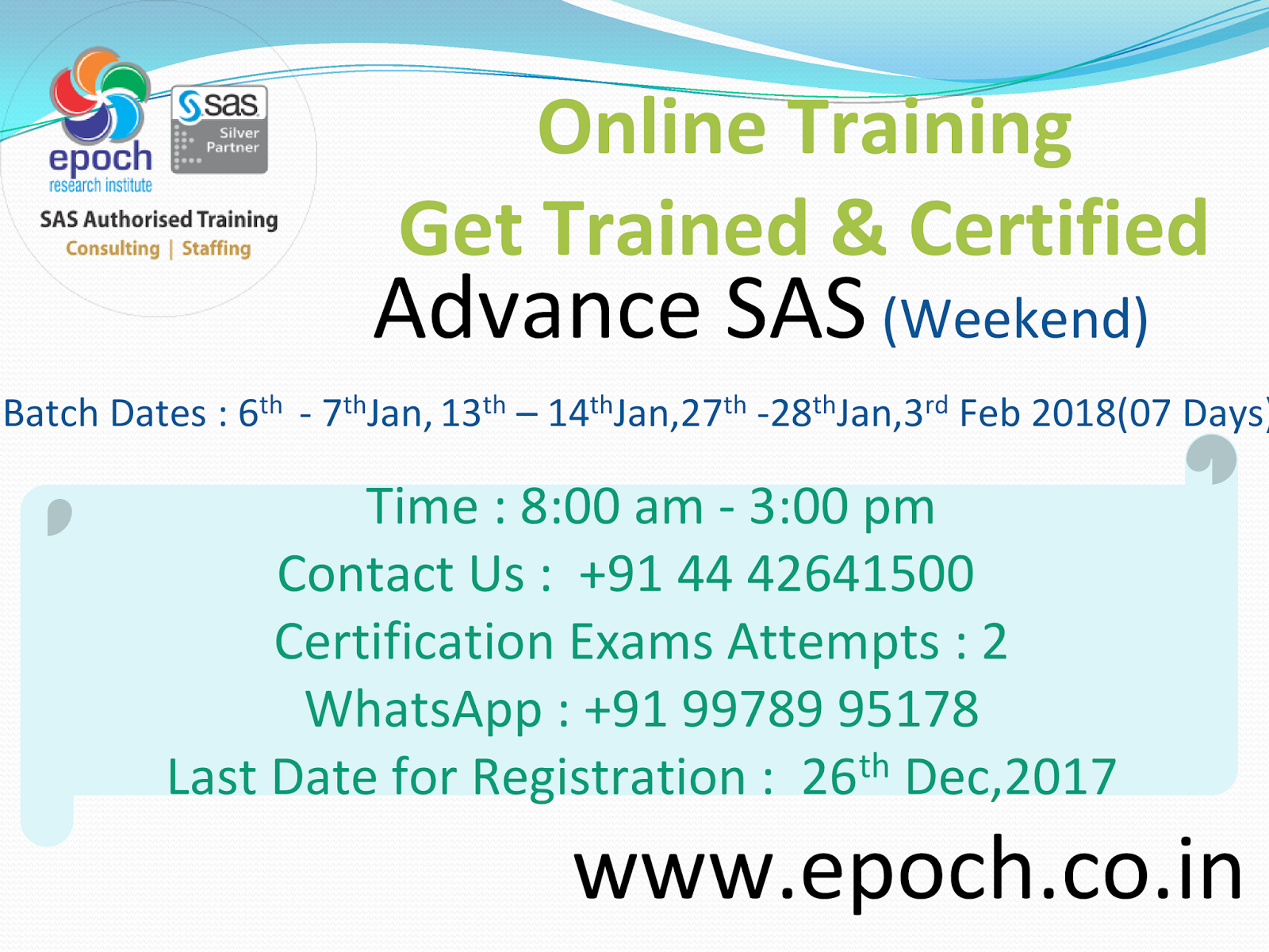Sas Training Big Data Analytics Clinical Sas Programming Learn