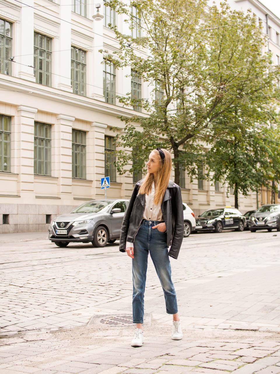 Scandinavian streetstyle inspiration fashion blogger - Syksyinen asu, muotibloggaaja, Helsinki