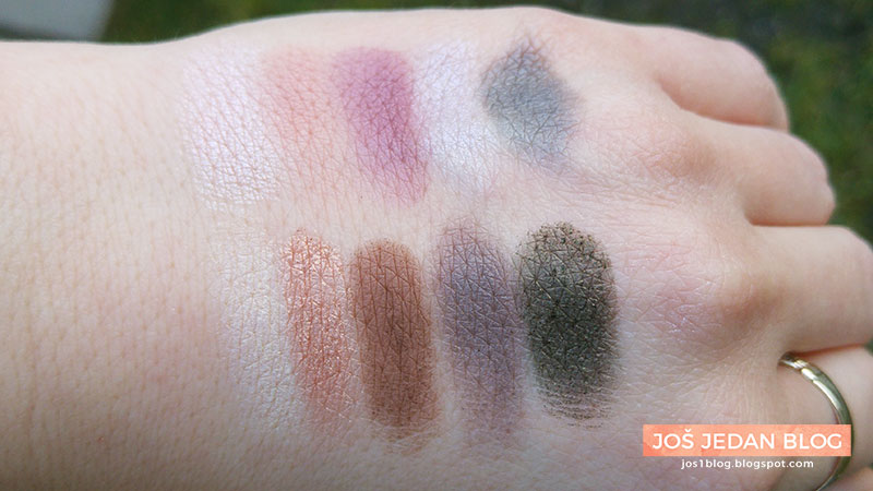 NYX Avant Pop Nouveau Chic paleta recenzija utisci review swatch