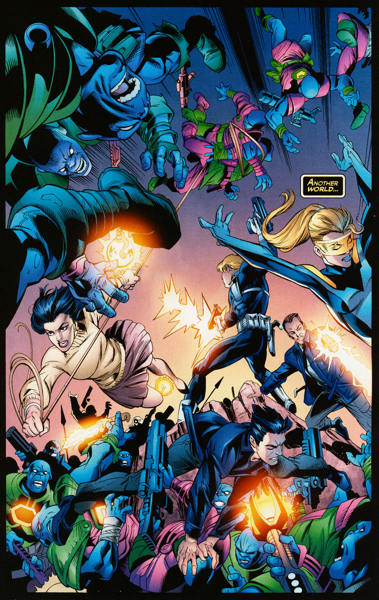 Read online Trinity (2008) comic -  Issue #35 - 3