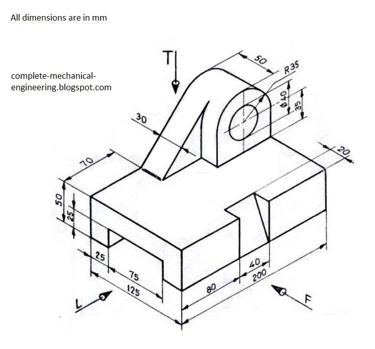 3d Engineering Diagram