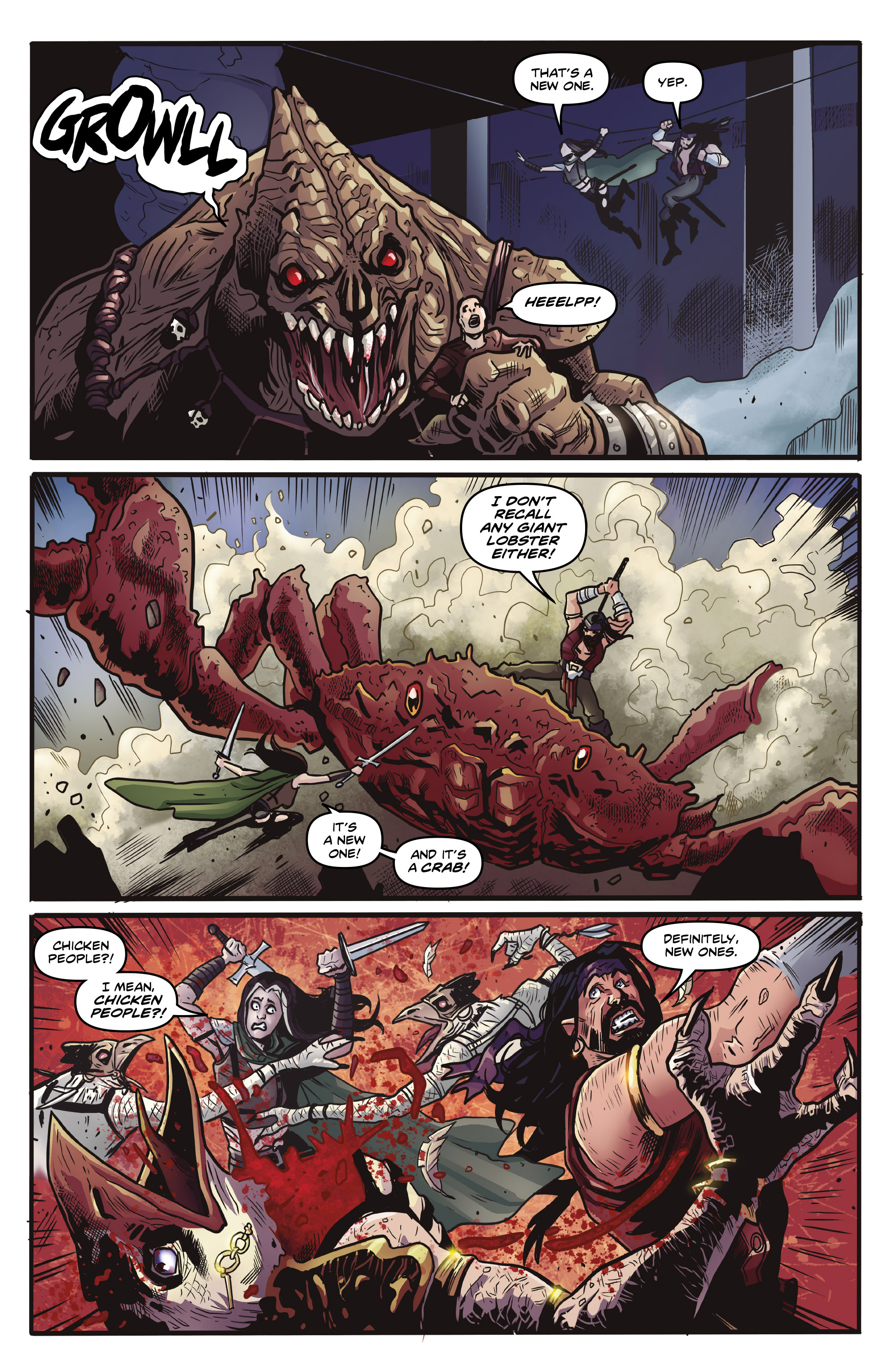 Read online Rogues!: The Burning Heart comic -  Issue #4 - 16