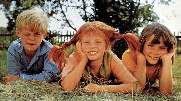 Pippi, Tommy y Anika