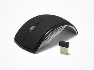Mini Foldable Arc Wireless & Portable Mouse