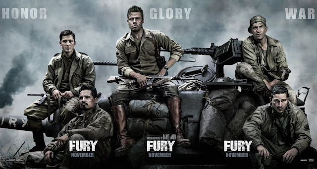 Fury 2014 Hindi Dubbed Movie Download in 720p BluRay