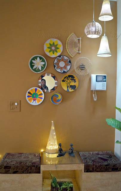 African Bohemian Wall Decor After