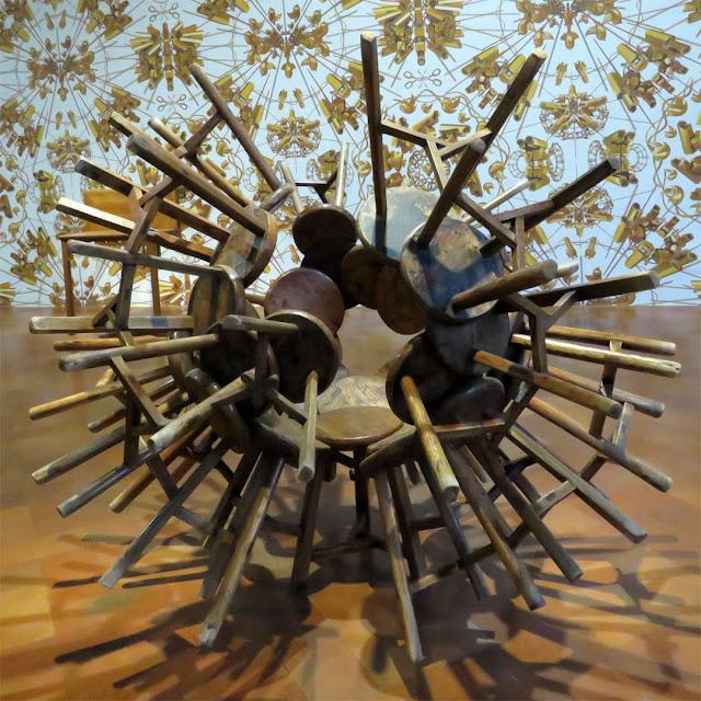 Grapes by Ai Weiwei, Ai Weiwei Libero exhibition, Palazzo Strozzi, Florence