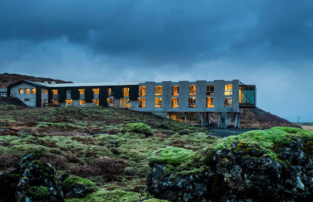 The Ion Hotel provides guests with a good view of the Northern Lights in Iceland