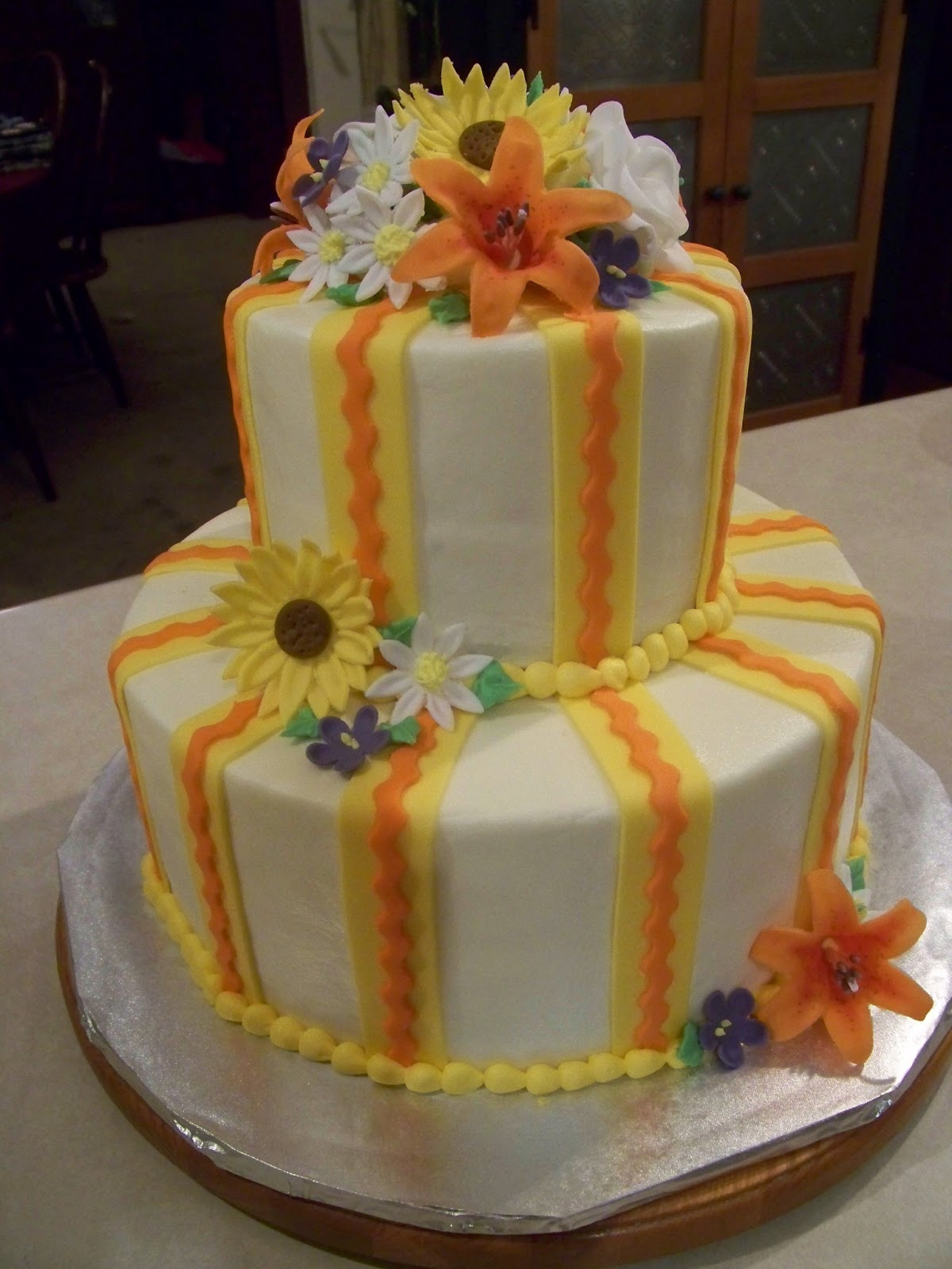 Piece O Cake Creations Retirement Cakes