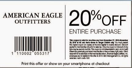 American eagle coupons in store november 2018
