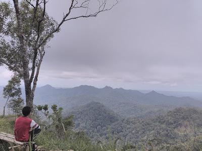 Wisata Gardu Pandang Gunung Gajah, Kulon Progo.