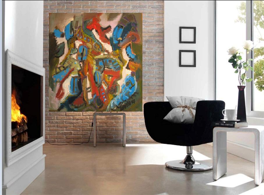 comprare quadri buy original paintings comprare arte contemporanea ... - Quadri Per Soggiorno Contemporaneo 2