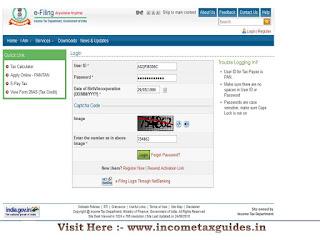 Login, Income tax Login,e filing,itr online upload return