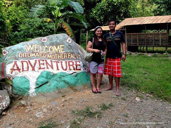 Starting the trek to Ditumabo Falls