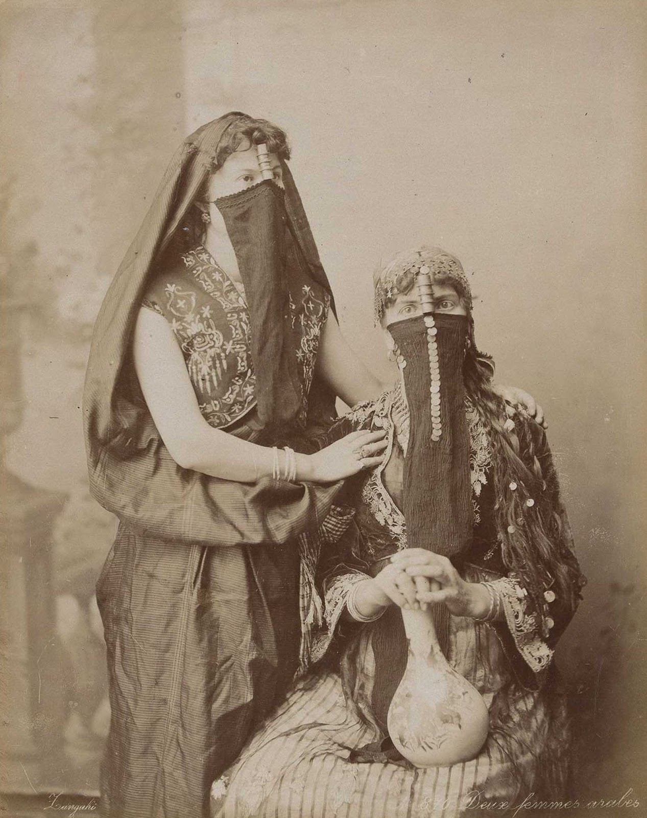 Two Arab women.