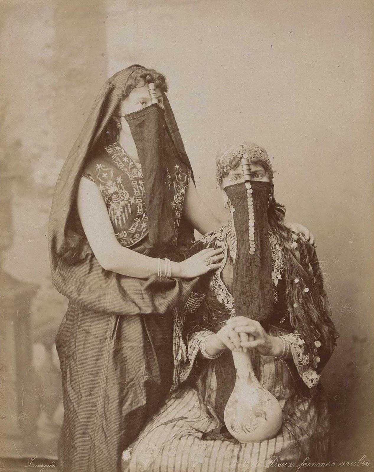 Dos mujeres árabes.