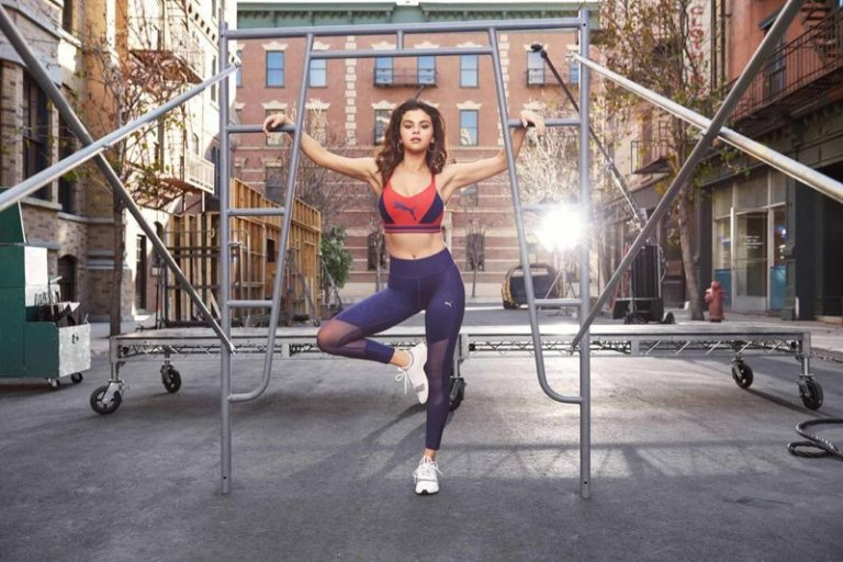Selena Gomez for PUMA Fall 2018 Campaign
