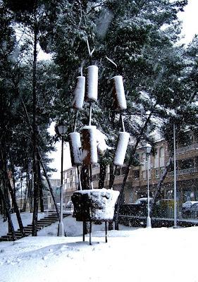 Escultura de Emilio Gallego en Requena