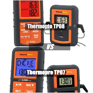 Thermopro TP-08 VS TP-07 Comparison (Differences) - Which One is Best?