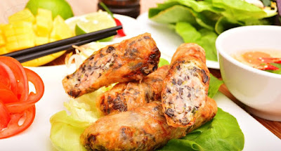 Nem rán(Vietnamese Fried Spring Rolls) – the authentic taste of Vietnam