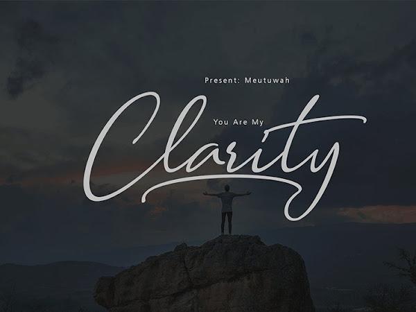 Clarity Light Script Font Free Download