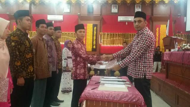KPU Pariaman Lantik PPK dan PPS Pemilu 2019