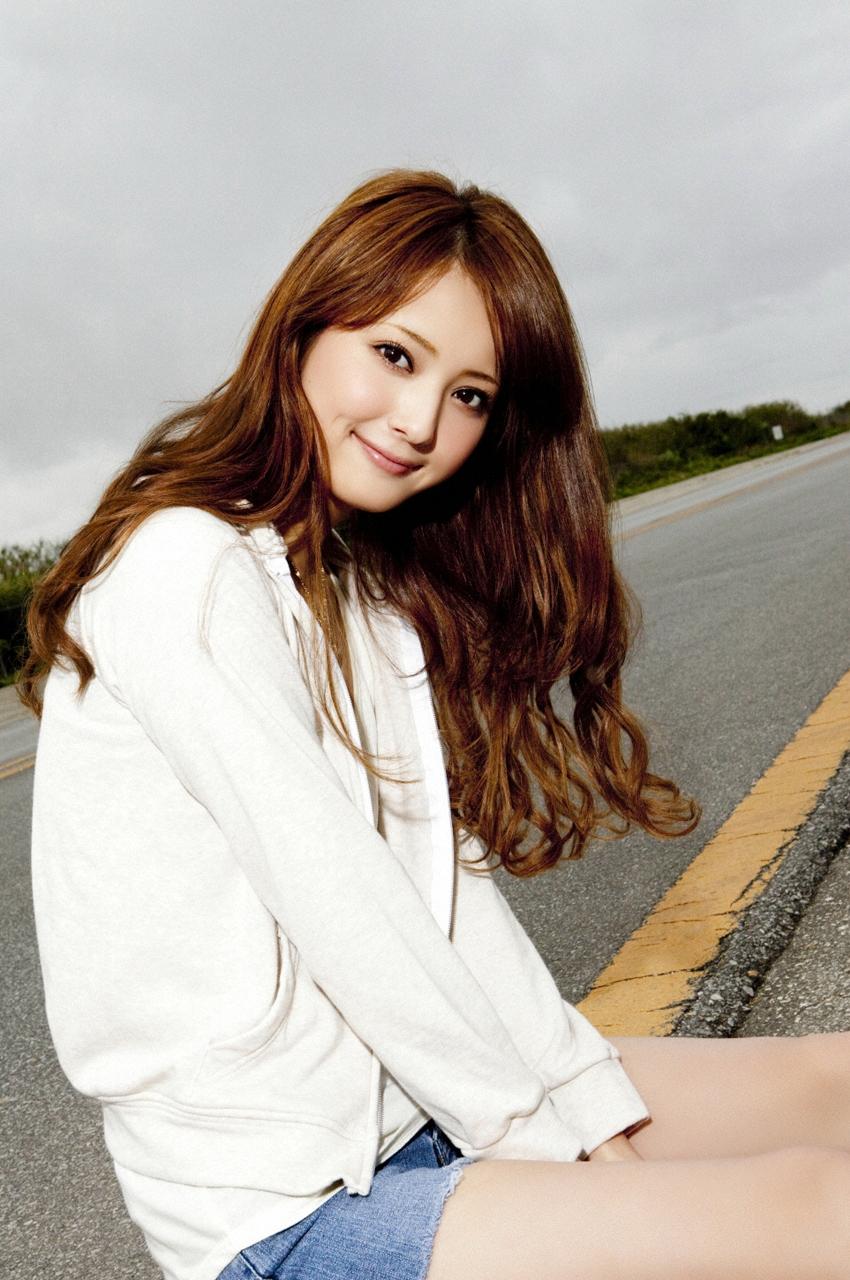 Nozomi Sasaki On The Road  Sexy Japanese Girls-6315