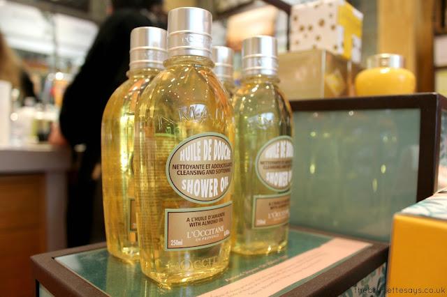 l'occitane, beauty, almond shower gel