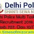 Delhi Police Multi Tasking Staff Recruitment 2018: Total Posts 707: Class 10/ITI