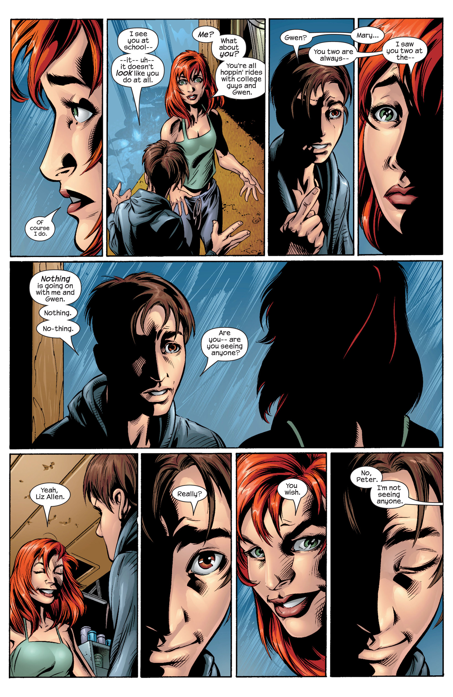 Read online Ultimate Spider-Man (2000) comic -  Issue #37 - 9