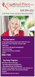Seniors Day Spa