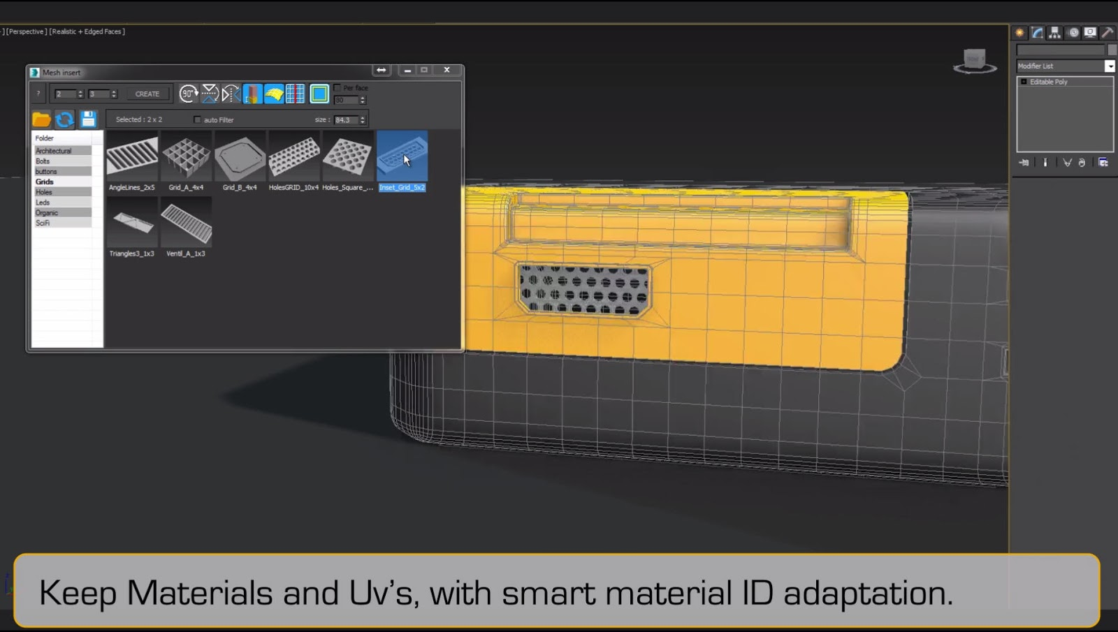 Mesh Insert 1 02 for 3ds Max 2013 - 2018 - Plugins Reviews and