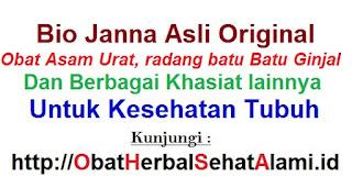 Jual herbal bio janna asli berBPOM obat asam urat + batu ginjal berKHASIAT