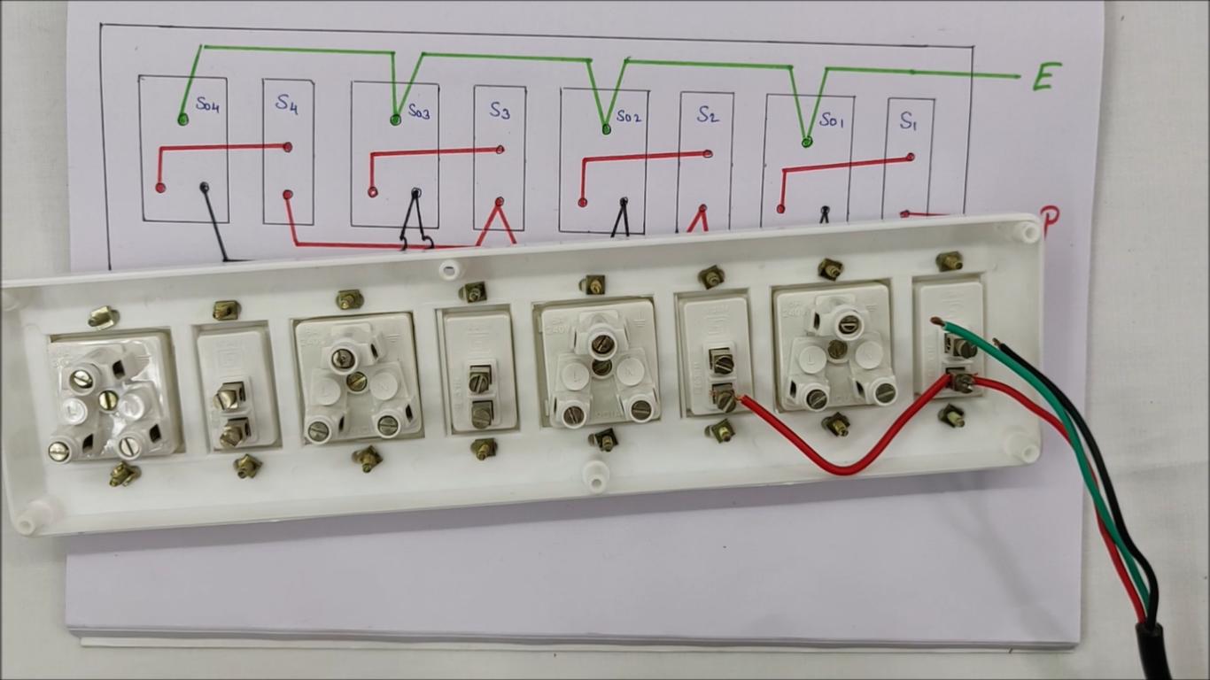 How To Make Electrical Extension Board Step By Step Deepakkumar Yadav