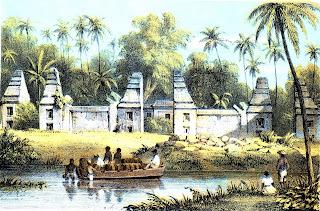 Ruine van de Dalam van Bantam