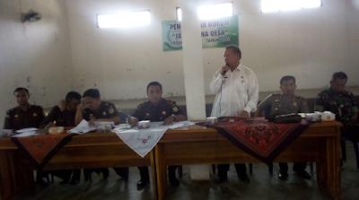 """Camat Labuhan Ratu Buka Sosialisasi Penerangan Hukum """"Jaksa Bina Desa"""""""