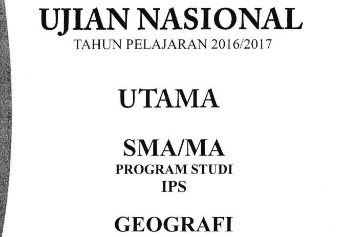 Kunci Jawaban Dan Pembahasan Un Geografi 2017 No 41 45 Guru Geografi