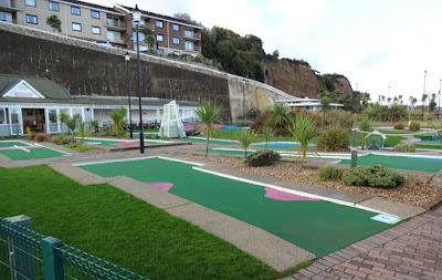 Crazy Golf course at Shanklin Seafront